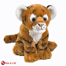 Diseño de OEM personalizado peluche peluche tigre