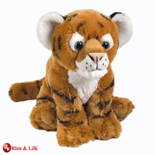 customized OEM design stuffed plush tiger