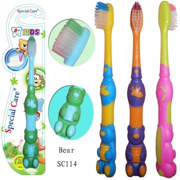 Hot Selling Toy Bear Kids Toothbrush