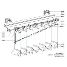 Vertikale Jalousien für Fenster (VB-16)