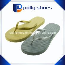 Sandalias de mujer Flip Flop Thong en talla plata 11