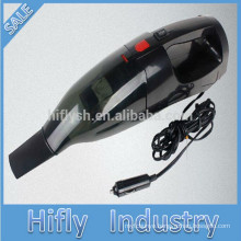 HF-803 DC 12V Car Vacuum Cleaner with LED lighting air inflation and Tire pressure measurement (CE cetificate)