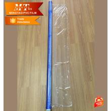 Embalaje de colchón de muelles PVC película azul para película protectora