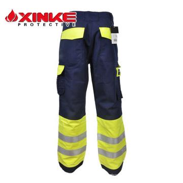 Xinke EN11611 fireproof wholesale safety used work cargo 6 six pocket pants