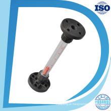 Vários Flowrate Tipo de flange Tubo curto Guia Rod Rotameter água plástica