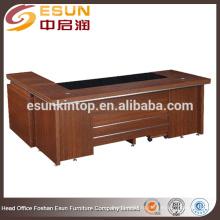 2015 Современная офисная мебель меламин исполнительный стол офисный стол дизайн