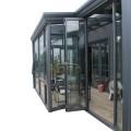 Panel View Exterior Door Glass Aluminium Sunroom