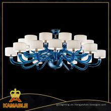Moderna lámpara colgante de cristal azul (kd9011-24)