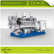 Generador diesel 1640KVA / 1312KW MTU con motor original de Alemania 12V4000G23 MTU