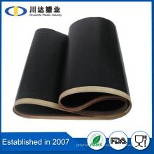 Tipo de transportador de lamas y material de PTFE resistente al calor Característica Correa transportadora de teflón