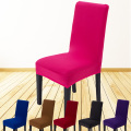 Knitting spandex hotel chair cover