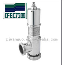 Food Grade Stainless Steel Sanitary Safety Valve