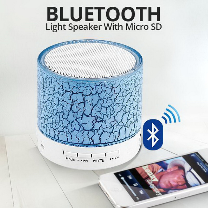 wireless led bluetooth speaker