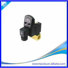 brass electric control water valve with timer