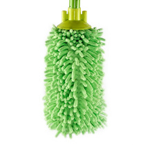 Factory Price Round Microfiber Green Household Floor Cleaning Round Mop