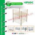 wire mesh display stand for supermarket promotion