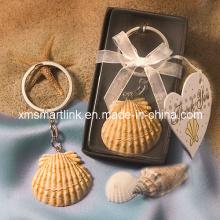 Miniatur-Meer-Shell-Schlüsselkette für erstklassige Geschenke