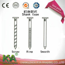 Винтовые гвозди под винты для строительства и упаковки