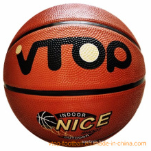 Size 7 Colorful High Quality Rubber Basketball