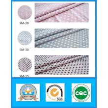 O estoque 100% algodão imprimiu a largura 150cm do peso 255GSM da tela da lona do PONTO
