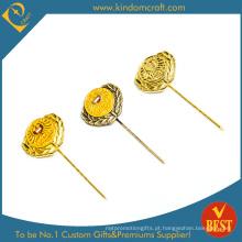 2015 moda longa agulha lembrança pin (kd-0122)