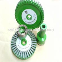 Usine prix meule frittée diamant monté point pour garniture de frein plaquette de frein
