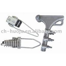 Grampos de tensão de liga de alumínio (braçadeira sem saída)