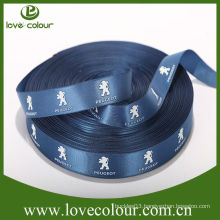 Guangzhou customize ribbon/polyester ribbons logo printed