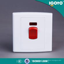 Interruptor Padrão UK Igoto para Aquecedor e Refrigertor e Fácil de Instalar