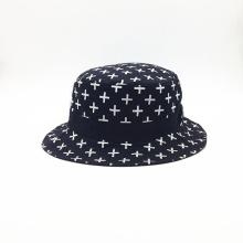 100% algodón acampando excursión pescando al aire libre cubo sombreros (ACEK0056)