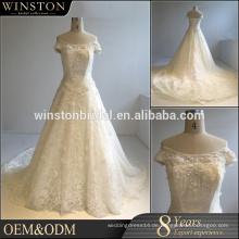 Fashion professionelle beste Brautkleider produziert echte Probe