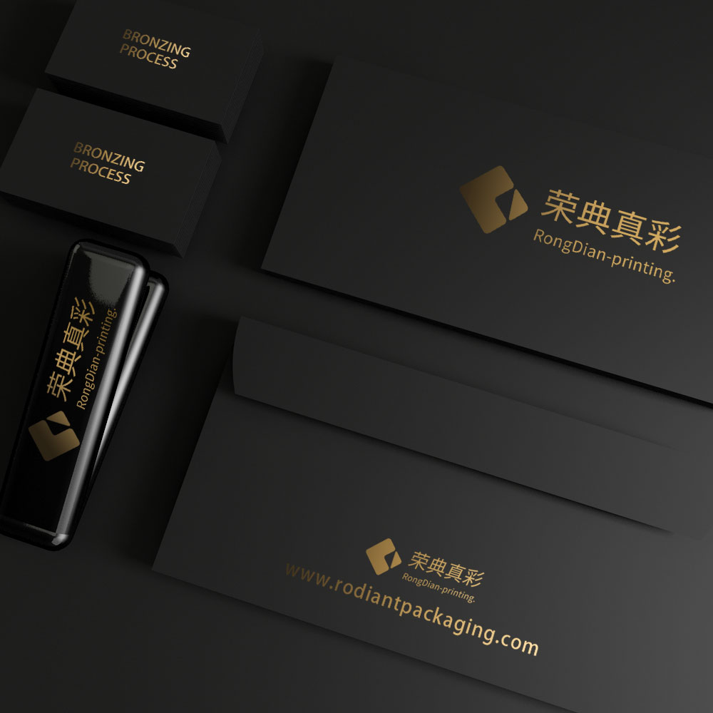 Packaging hot stamping effect