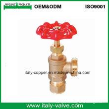 Válvula de drenaje de la caldera de latón / Válvula de drenaje de compresión (AV4046)