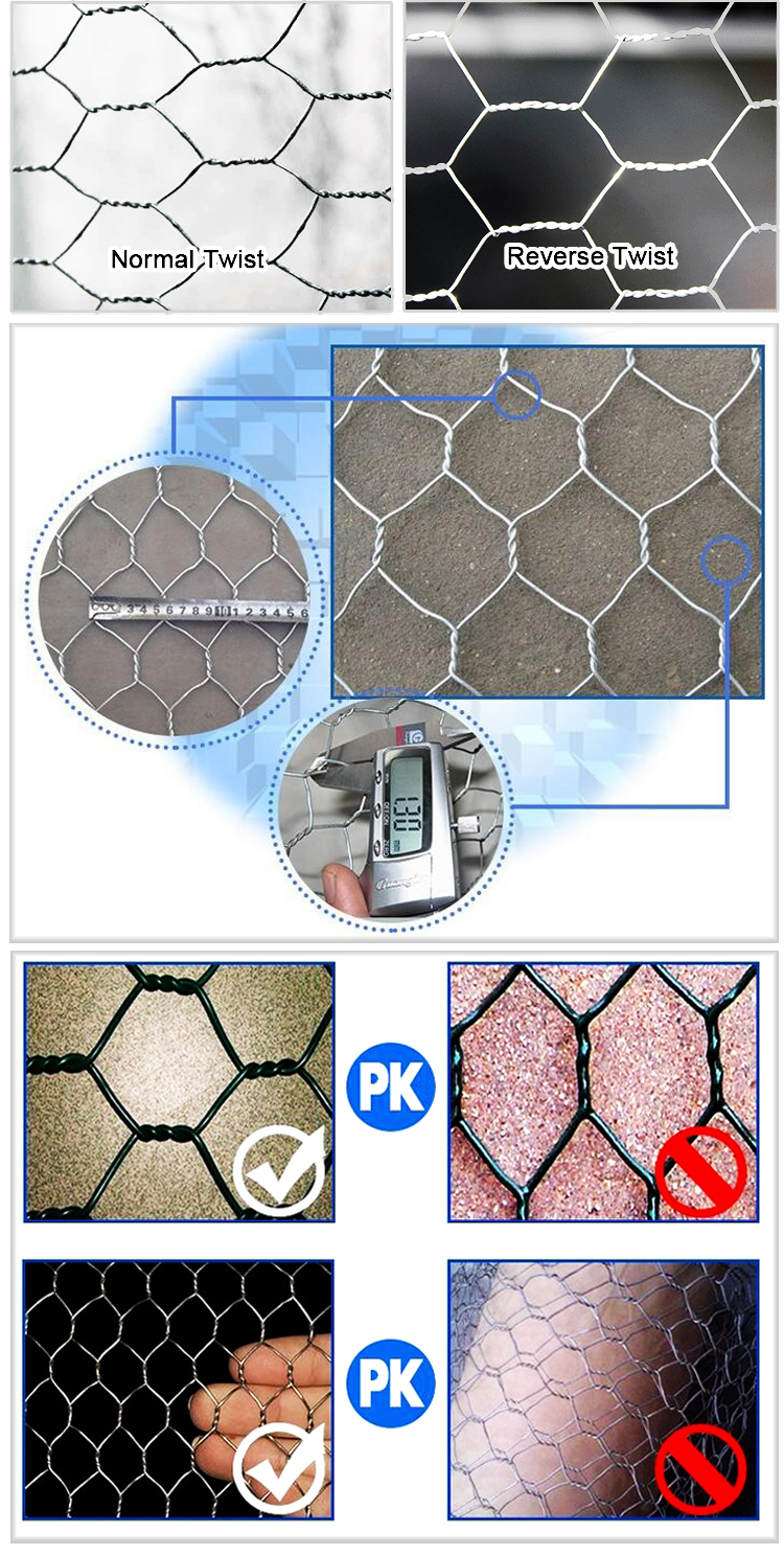 Hexagonal-wire-netting