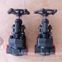 API602 Válvula de Globo de Rosca de Acero al Carbono Forjado o Acero Inoxidable