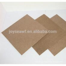 1220 * 2440mm / 1000 * 2000mm superfície traseira lisa do hardboard de 3mm áspera para trás