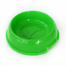 Food Grade Plastic bone embossed dog bowl
