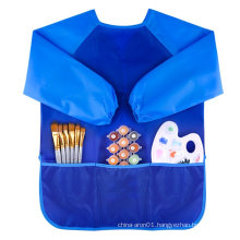 Child long sleeve apron for kids