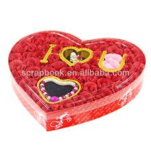 Flor de jabón rosa de regalo de día de San Valentín por mayor