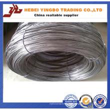 Électrode de 0.4-5.0mm ou fil galvanisé plongé chaud