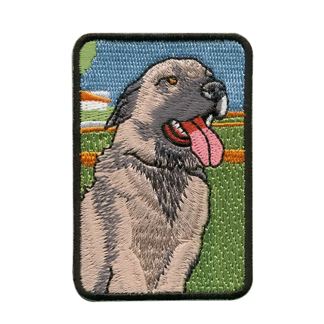 Custom Animal Embroidery Patch with Good Quality