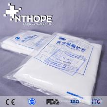 esponja abdominal de gaze tecida de algodão esterilizada