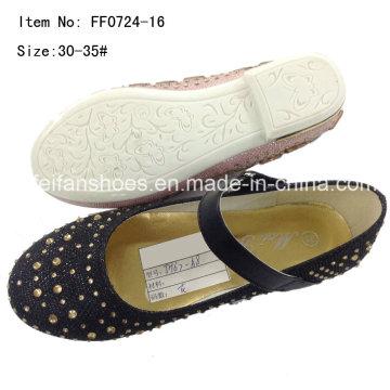 Child Shoes Girl Dance Shoes Princess Shoes Party Shoes (FF0724-16)