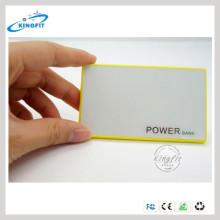 New Arrive Credit Card Design 2200 mAh Portable Power Bank