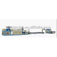 Extrusora de reciclagem de filme / linha de granulação / extrusora de dois estágios