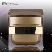 Jy219 le pot cosmétique PMMA avec n'importe quelle couleur 30g