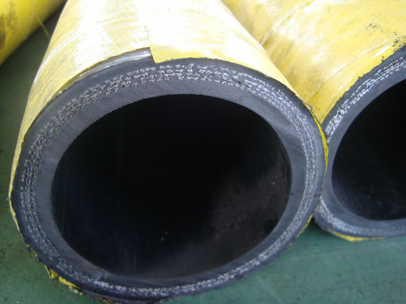 concrete pump rubber hose 4 layer steel wire