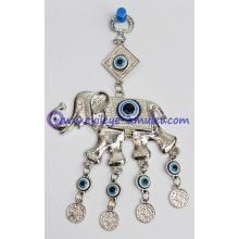 Evil Eye Elephant Wall Hanging Amulet