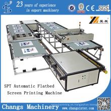 Máquina de impresión de pantalla plana automática (SPT)