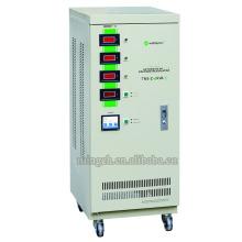 Personalizado Tns-Z-6k Tres fases de la serie Voltaje de CA totalmente automático Regualtor / Estabilizador